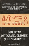 Indreptar Ortografic, Ortoepic Si De Punctuatie - Marina Radulescu