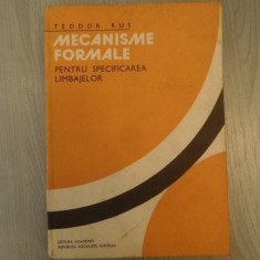 Mecanisme formale pentru specificarea limbajelor – Teodor Rus