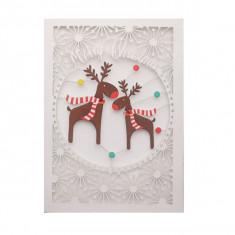 Felicitare - Merry Christmas Reindeer   Alljoy Design