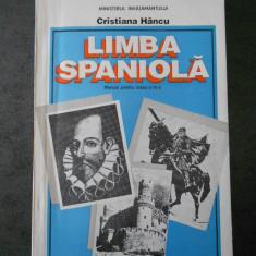 CRISTIANA HANCU - LIMBA SPANIOLA (1997, clasa a IX-a)