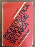Propedeutica, semiologie si clinica chirurgicala- Fl. Mandache