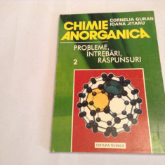 CHIMIE ANORGANICA  CORNELIA GURAN  PROBLEME,INTREBARI,RASPUNSURI   VOL 2-RF14/2