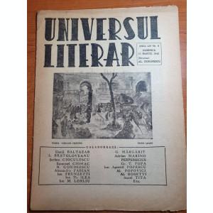 universul literar 11 martie 1945-camil baltazar
