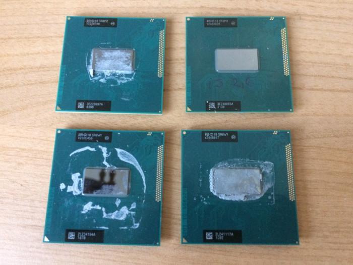 Procesor Laptop Intel i5 3230M 3320M 2600Mhz 3M Cache QuadCore SR0WY