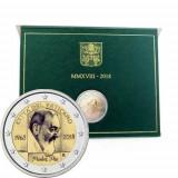 VATICAN 2018 2 Euro comemorativ- 50 de ani de la moartea Parintelui Pio, Europa