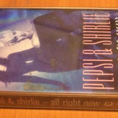 PEPSI AND SHIRLEY - All Right Now  ( 1986 ) - Caseta Audio Originala ( Polydor )
