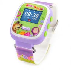 Ceas Inteligent cu GPS pentru Copii Masha and The Bear