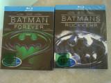 2 Filme Blu-Ray BATMAN Forever si BATMAN Returns - Sigilate, BLU RAY, Engleza