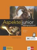 Cumpara ieftin Aspekte junior Lehrbuch B1+ mit DVD