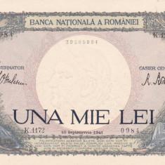 ROMANIA 1000 LEI 1941 AUNC+