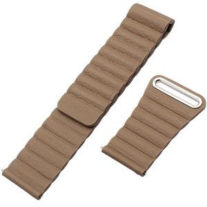 Curea piele Smartwatch Samsung Gear S3, iUni 22 mm Brown Leather Loop