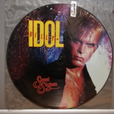 Billy Idol - Sweet Sixteen -Picture Disc (1987/WEA/UK) - Maxi Single '12 - Vinil