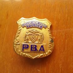 Insigna Politie N.Y.