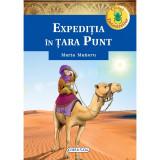 Carte pentru copii Clubul detectivilor Expeditia din tara Punt Girasol, 7 ani+