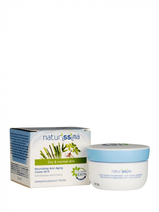 Crema Naturala Hidratanta Naturissima Pt Ten Normal Si Uscat 50 ml