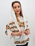 Cumpara ieftin Marama Traditionala cu broderie - Floarea Soarelui 2