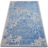 Covor Vintage 22208/053 albastru si gri rozetă clasică, 120x170 cm