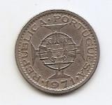 Sao Tome & Principe 2.5 Escudos 1971 - Copper-nickel, 18 mm KM-19