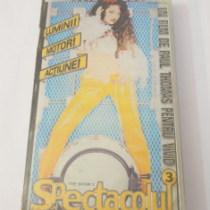 Caseta video VHS originala film tradus Ro XXX - Spectacolul 3
