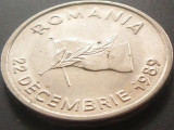 MONEDA  ROMANIA 10 LEI 1992     , 22 DECEMBRIE 1989