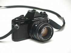 Pentax MV + obiectiv Pentax 50mm f2.0 foto