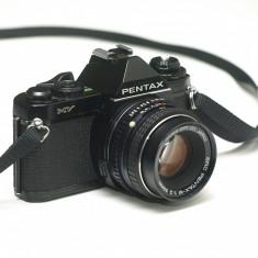Pentax MV + obiectiv Pentax 50mm f2.0