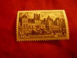 Serie Franta 1951 - Castel Fontainbleau , 1 valoare, Nestampilat