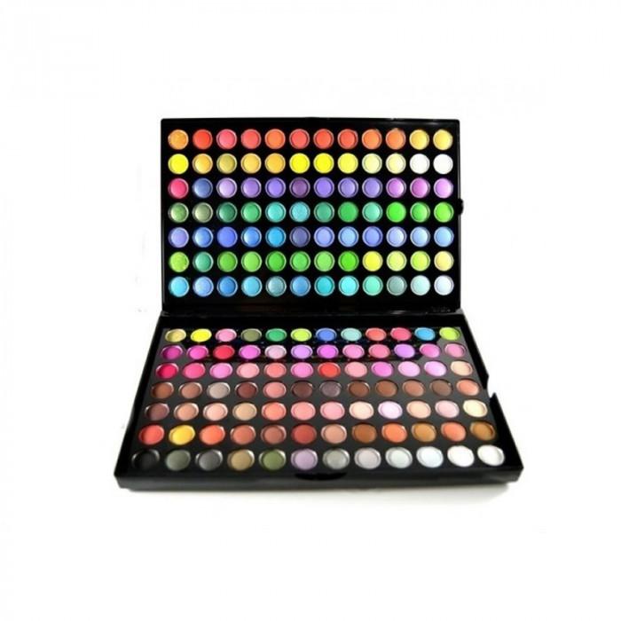 Trusa profesionala de farduri 168-2, 168 culori
