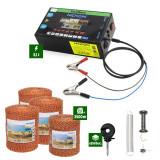 Pachet Gard electric Nexon pentru animale 3,1J putere plus 3500m de fir 90kg