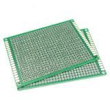 Placa test PCB 6 x 8 cm, prototip / prototype Arduino (p.277)