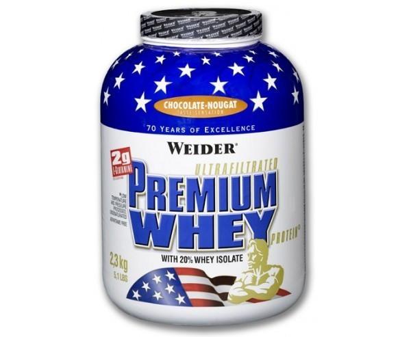 WEIDER Premium Whey Protein, 2.3 KG