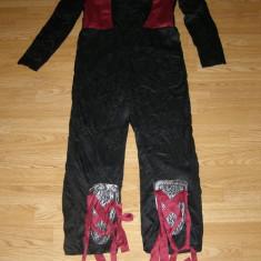 Costum carnaval serbare ninja pentru copii 9-10-11 ani, 9-10 ani, Din imagine