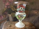 Fotbal / Trofeu - Cupa sticlarului Medias anul 1999 pentru cel mai bun fundas !