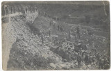 B2271 Mortier austro-ungar cal 30,5 cm camion Austro-Daimler prabusit accident
