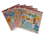 Sticker decorativ 3D pentru camera copii