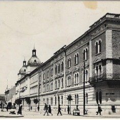 Carte poștală – Cluj. Administrația financiară.