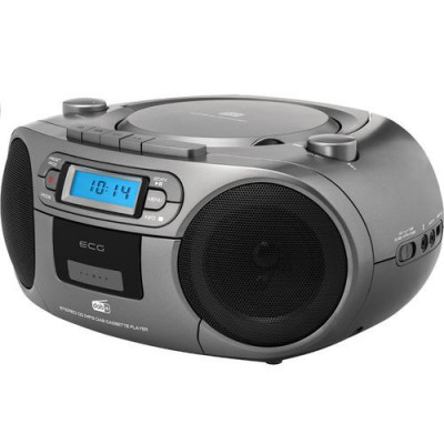 Sistem audio ECG CDR 999 DAB, 2 x 1,5W RMS, Radio, USB, CD, Casetofon, MP3, FM foto