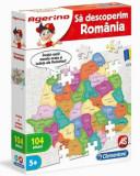 Cumpara ieftin Agerino - Puzzle educativ Sa descoperim Romania, 104 piese