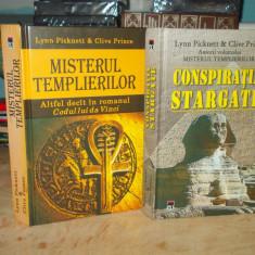 LYNN PICKNETT - MISTERUL TEMPLIERILOR + CONSPIRATIA STARGATE ( 2 VOL. ) , 2004/5