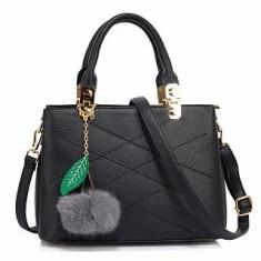 Anna Grace AG00537S geantă în mână neagra