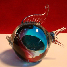 Pestisor decor din sticla  Murano (original)