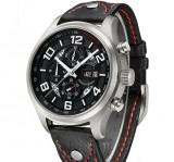 ceas parnis cronograf 43 mm / seiko casio citizen orient