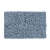 Covor pentru baie, 50 x 80 cm, bumbac/poliester, Albastru
