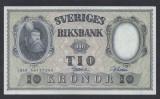 A5139 Sweden Suedia 10 kronor 1959 SEMNATURI DIFERITE UNC