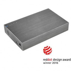 HDD extern 4TB, Memory Board, 3.5, USB 3.0, Aluminiu, Intenso