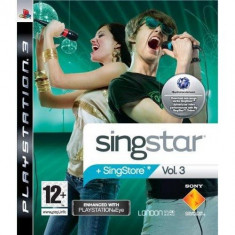 SingStar Volumul 3 PS3