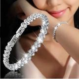 Cumpara ieftin Bratara eleganta fashion, cristale in stil roman, 19 cm