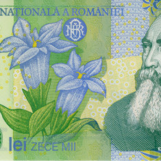 ROMANIA - 10000 LEI 2000 - PERFECT UNC - GHIZARI