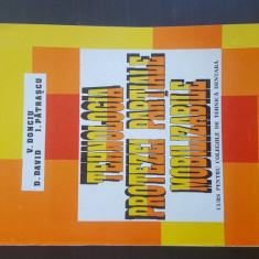TEHNOLOGIA PROTEZEI PARTIALE MOBILIZABILE - V. Donciu. 1995