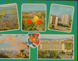 CPI B13404 CARTE POSTALA - HUNEDOARA. PERSPECTIVA SPRE ORASUL VECHI, NOU, RUSCA